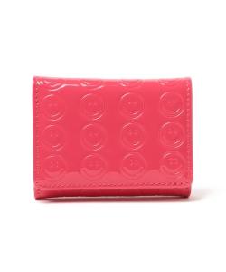 5eb9279ec946 【予約・WEB限定】Ray BEAMS / エナメル スマイル 三つ折り財布