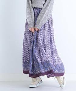CAROLINA GLASER / オリジナル ペイズリープリント スカート