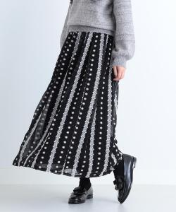 CAROLINA GLASER / 刺繍ロングスカート