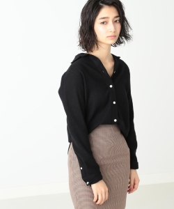 【予約】MADISONBLUE / MADAME SHIRT WOOL VIYELLA●