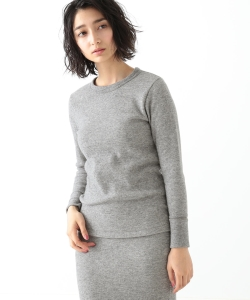 MADISONBLUE / THERMAL LONG SLEEVE PULLOVER●