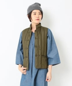 <Women's>ROCKY MOUNTAIN FEATHERBED × fennica / 6Month china Down vest 16AW