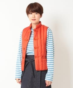 <WOMEN>ROCKY MOUNTAIN FEATHERBED × fennica / 6Month チャイナベスト