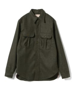 <MEN>SUGAR CANE / NEW OLD STOCK WOOL ワークシャツ