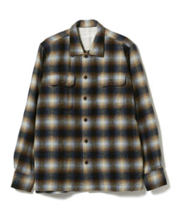 <MEN> UNIVERSAL WORKS / Texas WoolPlaid ユーティリティシャツ