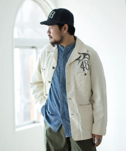<MEN>SUGAR CANE × fennica / Drinking Type 3 ジャケット