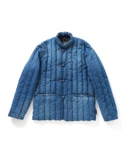 <MEN>ROCKY MOUNTAIN FEATHERBED × fennica / 6Month チャイナ デニム ジャケット