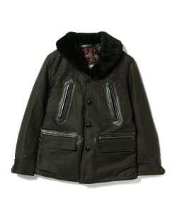 <MEN>BUZZ RICKSON'S William Gibson Collection / コーストガードコート BLACK