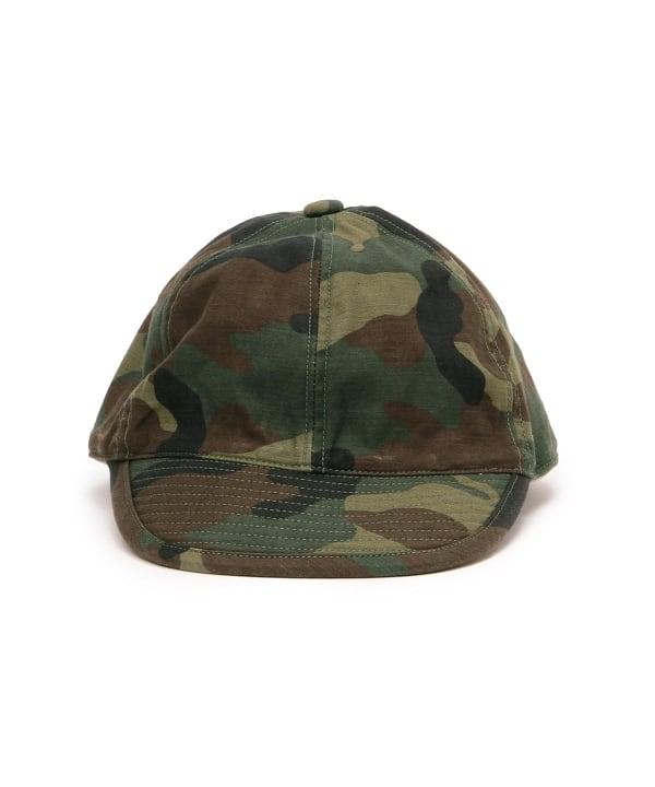 bfe27d39317 fennica(フェニカ)<MEN>cableami × fennica   別注 ミリタリーキャップ(帽子 キャップ)通販|BEAMS