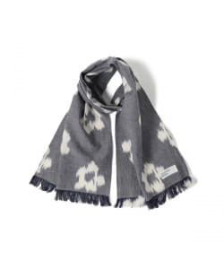 <UNISEX> UNIVERSAL WORKS / IKAT FLOWER ショート スカーフ