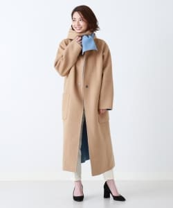 【CLASSY.12月号掲載】Demi-Luxe BEAMS / ストール付き リバーシブルコート