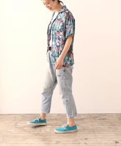 【予約】『WEAR ALOHA, SAVE ALOHA.』 × BEAMS Planets / アロハシャツ