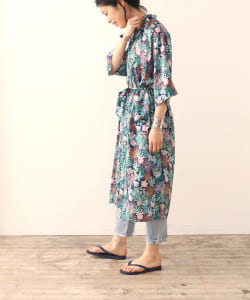 【予約】『WEAR ALOHA, SAVE ALOHA.』 × BEAMS Planets / アロハシャツ ガウン