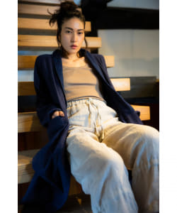 【予約】CATHRI / Linen Easy Pants
