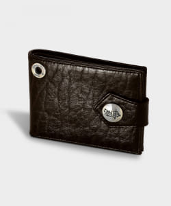 Bill Wall Leather / W924 ホースレザー Billfold with B-Crown Button ウォレット