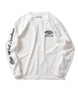 Bill Wall Leathe / 002 ロングスリーブ Tシャツ TAIWAN Edition