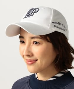 <WOMEN>BEAMS GOLF PURPLE LABEL / BGP カノコ キャップ
