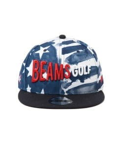 【予約】NEW ERA × BEAMS GOLF / 別注 STAR & STRIPE 9FIFTY キャップ