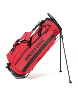 BRIEFING × BEAMS GOLF / ビームス ゴルフ広島別注 STAND CADDIE BAG RED