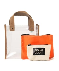BEAMS GOLF ORANGE LABEL / PVC カートバッグ