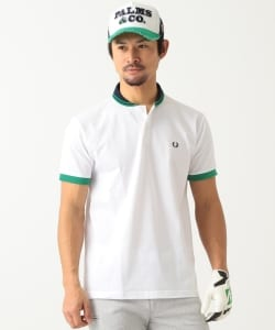 FRED PERRY × BEAMS GOLF / 別注 ショールカラー ポロシャツ