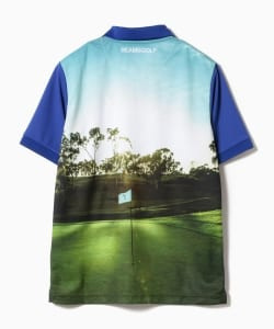 BEAMS GOLF ORANGE LABEL / GREEN フォト ポロシャツ