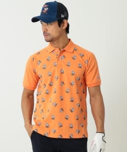 SNOOPY×Champion×BEAMS GOLF ORANGE LABEL / 別注 リゾート ポロシャツ