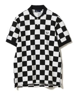 【予約】FRED PERRY × BEAMS GOLF / 別注 CHECKER FLAG ポロシャツ