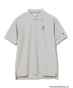 【予約】Champion×SNOOPY×BEAMS GOLF / 別注 HERO ポロシャツ
