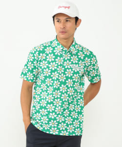 BEAMS GOLF ORANGE LABEL / HOLIDAY FLOWER ポロシャツ