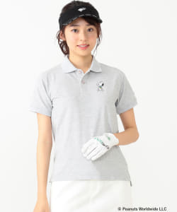 <WOMEN>Champion×SNOOPY×BEAMS GOLF / 別注 HERO ポロシャツ