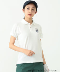 <WOMEN>Looney Tunes Meets Champion × BEAMS GOLF  / 別注 ポロシャツ