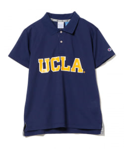 【予約】<WOMEN>CHAMPION × BEAMS GOLF / UCLA ポロシャツ