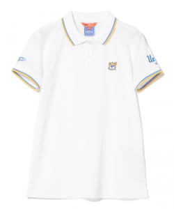 【予約】<WOMEN>BEAMS GOLF ORANGE LABEL / UCLA ポロシャツ