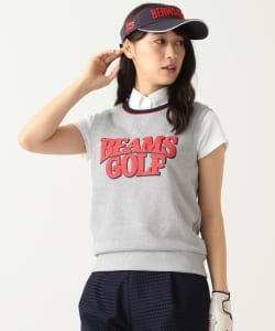 BEAMS GOLF ORANGE LABEL / LOGO 裏毛ベスト