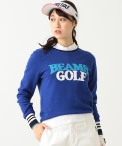 BEAMS GOLF ORANGE LABEL / ロゴ ニット