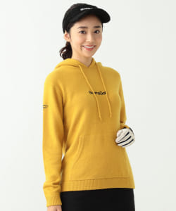 BEAMS GOLF ORANGE LABEL / 7G ニット パーカー