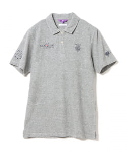 BEAMS GOLF PURPLE LABEL / MONTAUK ミニパイル ポロシャツ