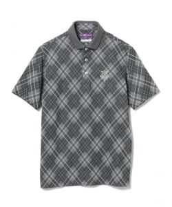 BEAMS GOLF PURPLE LABEL / ARGYLE ポロシャツ