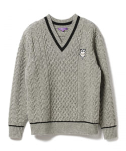 <MEN>BEAMS GOLF PURPLE LABEL / チルデン セーター