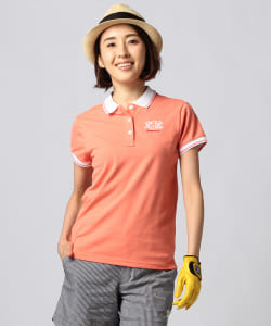 BEAMS GOLF PURPLE LABEL / MONTAUK カノコ ポロシャツ