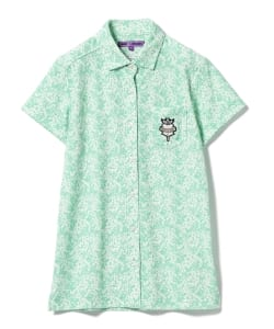 BEAMS GOLF PURPLE LABEL / 小花柄 シャツ