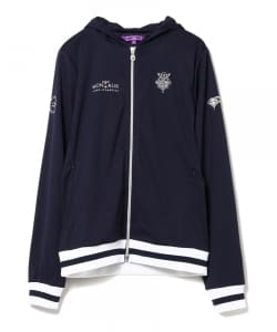 BEAMS GOLF PURPLE LABEL / MONTAUK BEACH&SNOB フルジップ パーカ