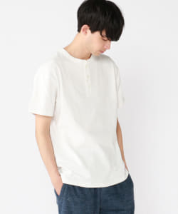 RUSSELL ATHLETIC × B:MING by BEAMS / 別注 PRO COTTON ヘンリーネック Tシャツ