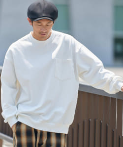 【OCEANS6月号掲載】B:MING by BEAMS / スーパーヘビーウェイト ロングスリーブ Tシャツ