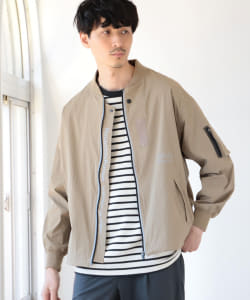 Manhattan Portage × B:MING by BEAMS / 別注 ストレッチ MA-1