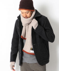 ROBERT MACKIE × B:MING by BEAMS / 別注 GUERNSEY マフラー