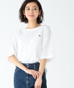 LACOSTE × B:MING by BEAMS / 別注 ヘビーピケ ビッグTシャツ 19SS