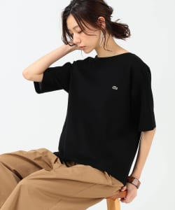 LACOSTE × B:MING by BEAMS / 別注 バックスリット Tシャツ 20SS