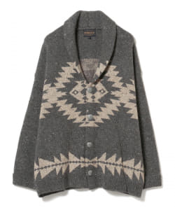 PENDLETON × B:MING by BEAMS / 別注 ニット ガウン 20AW